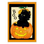 cat-and-pumpkin greeting card