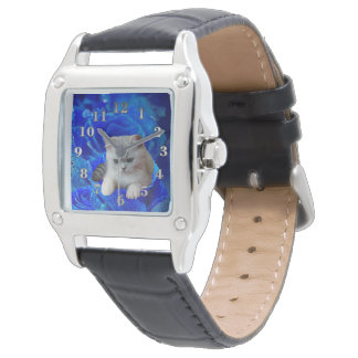 Cat and Rose Watch