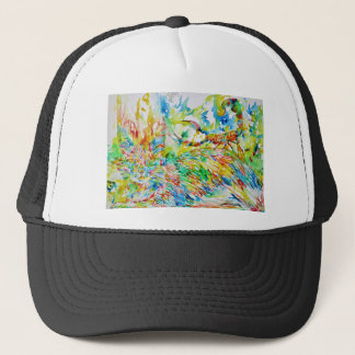 cat and scorpion trucker hat