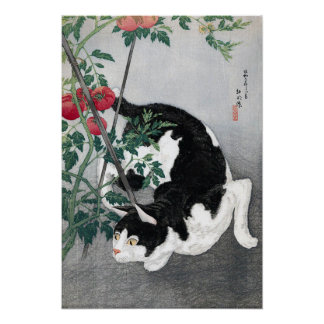 Cat and Tomato, Takahashi Shôtei Poster