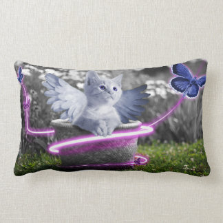Cat Angel Cushion