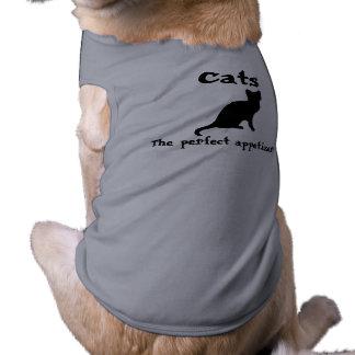 CAT appetizers~ Sleeveless Dog Shirt