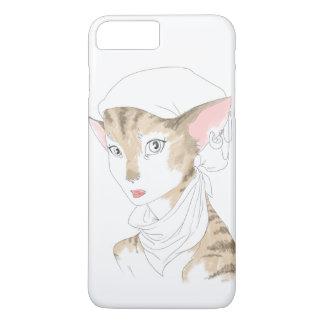 cat artist iPhone 7 plus case
