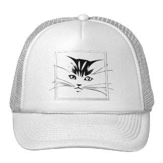 cat arts designs mesh hat