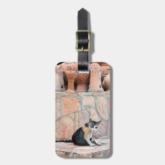 Cat at Nizwa Souq Luggage Tag