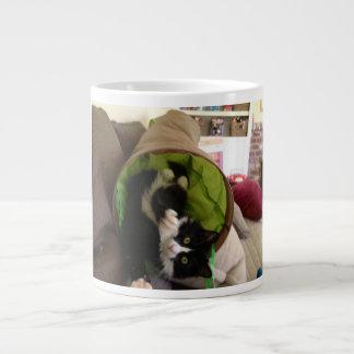 Cat Attack Jumbo Mug
