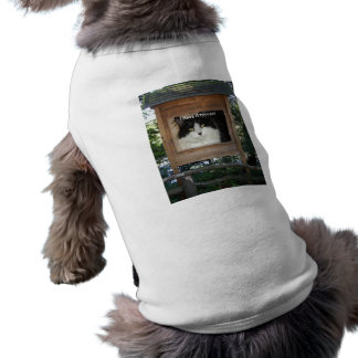 Cat Attitude Sleeveless Dog Shirt