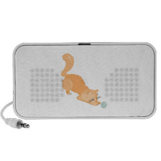 Cat & Ball Travelling Speakers