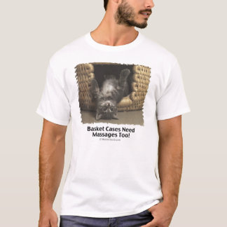 Cat Basket Massage T-Shirt