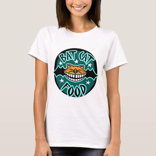 Cat Bat Food T-Shirt