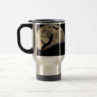 Cat Bat Moon Travel Mug