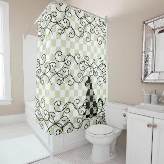 Cat Bathroom Decor Shower Curtains CricketDiane