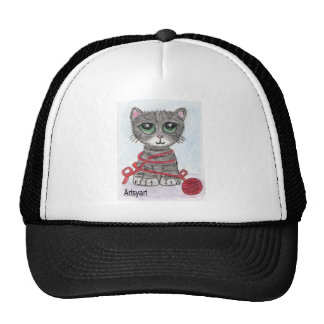 CAT BIG EYES CUTE CAP
