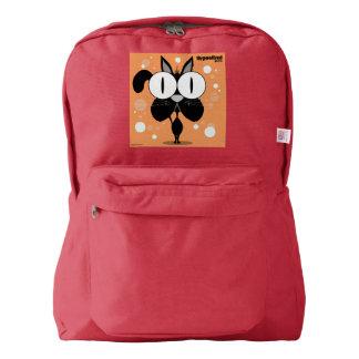Cat(Black) Backpack, Red Backpack