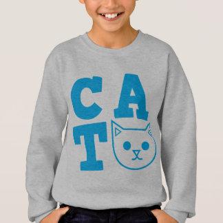 CAT blue Sweatshirt