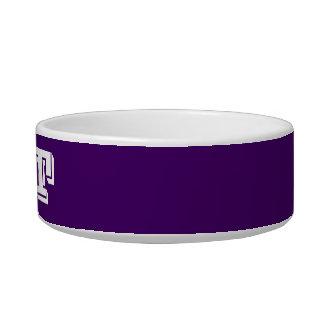 Cat Bowl by Janz Small Purple