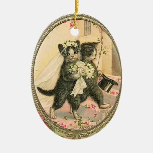 Personalised Cat Christmas Decorations