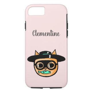 Cat Burglar Illustration iPhone 8/7 Case