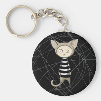 Cat Burglar Key Chain