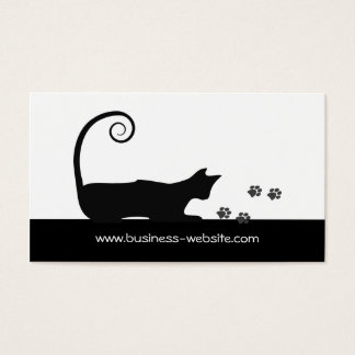 Cat Business Card