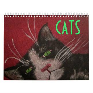 cat calendar