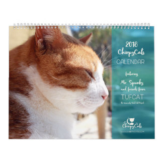 Cat Calendar 2018 - Chirpy Cats