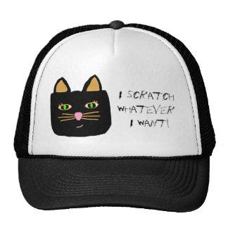 Cat Cap - I Scratch Whatever I Want! Trucker Hat