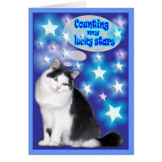 Cat Cards,True Friends Card