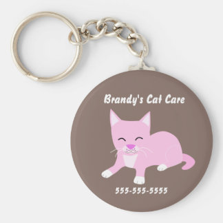 Cat Care Promotional keychain