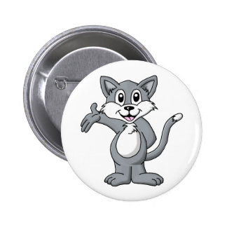 Cat Cartoon Buttons