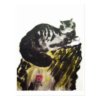 Cat, Cat 01 * Kind Postcard, animal art postcard