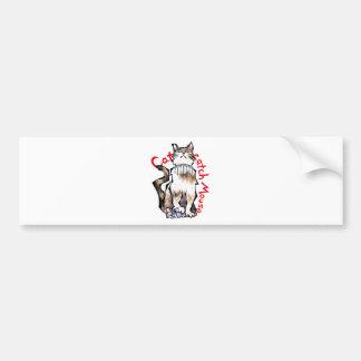 Cat catch Mouse! Bumper Stickers