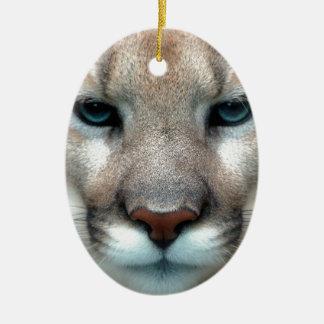 Cat Cats wild stripe print diy Anniversaries Ceramic Oval Decoration