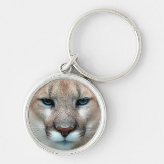 Cat Cats wild stripe print diy Anniversaries Silver-Colored Round Key Ring