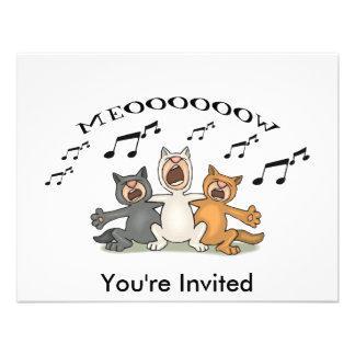 Cat Choir Invite