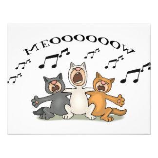 Cat Choir Announcements