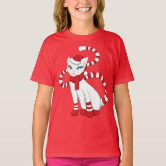 Cat Christmas Mood - Holiday Ready Kitty T-Shirt