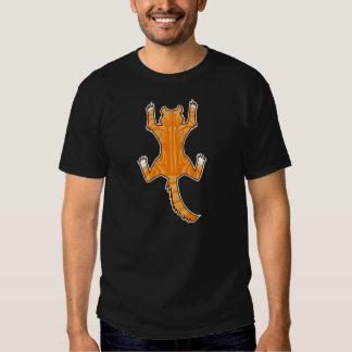 Cat Cling To A Shirt(Medium Hair_Classic Tabby) Tee Shirt