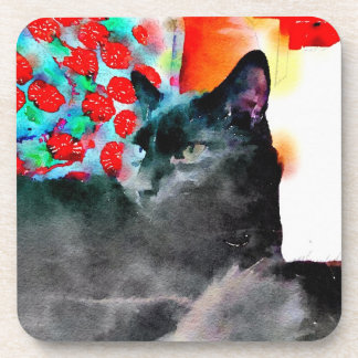 Cat Coasters, set of six Coaster
