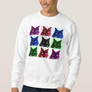 Cat Collage Sweatshirt