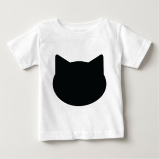cat contour icon baby T-Shirt