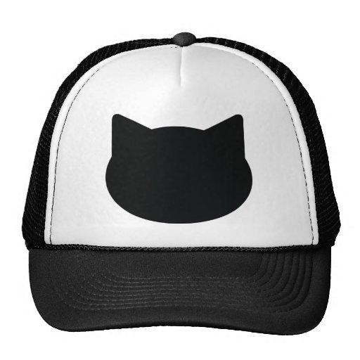 cat contour icon hats