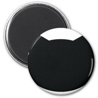 cat contour icon fridge magnet