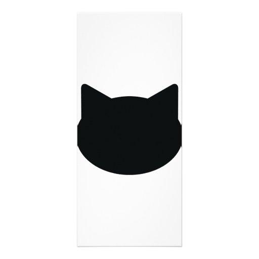cat contour icon custom rack card