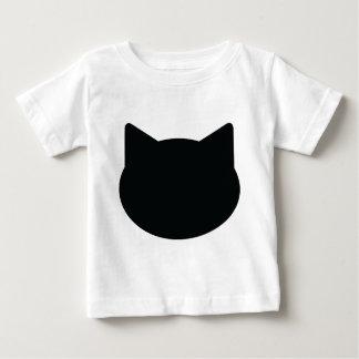 cat contour icon tee shirt