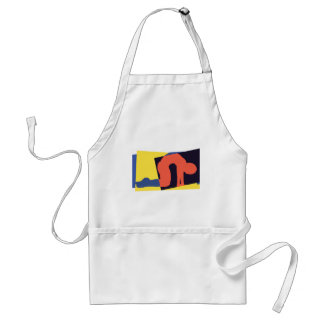 Cat Cow Pose Yoga Gift Apron