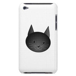 Cat. Cute black kitty. iPod Case-Mate Case