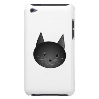 Cat. Cute black kitty. iPod Touch Case-Mate Case