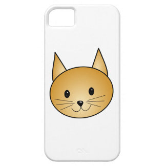 Cat. Cute ginger kitty. iPhone 5 Case