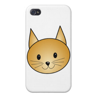Cat. Cute ginger kitty. iPhone 4/4S Cover